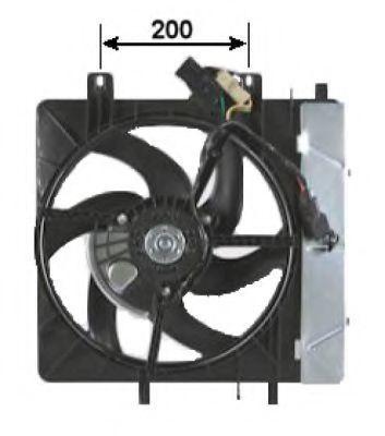 Вентилятор охлаждения двигателя NRF 47335