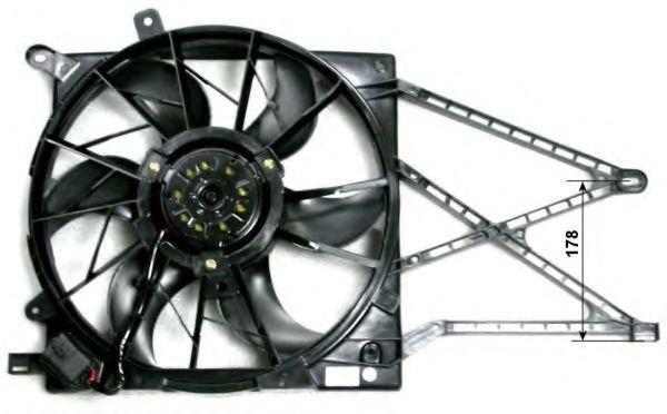 Вентилятор охлаждения двигателя NRF 47582
