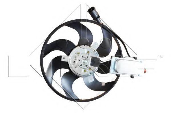 Вентилятор охлаждения двигателя NRF 47589