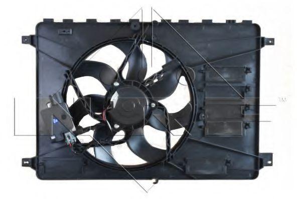 Вентилятор охлаждения двигателя NRF 47593