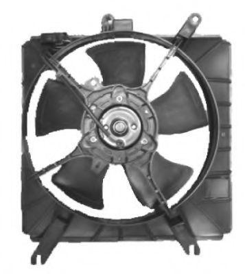 Вентилятор охлаждения двигателя NRF 47609