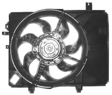 Вентилятор охлаждения двигателя NRF 47684