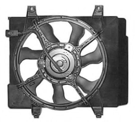 Вентилятор охлаждения двигателя NRF 47685