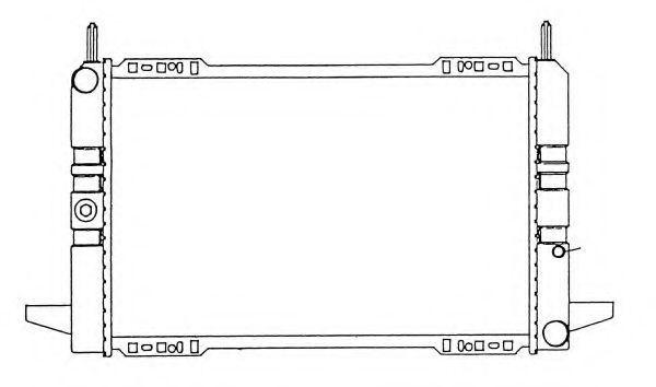 Радиатор охлаждения NRF 50111