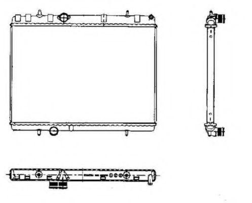 Радиатор NRF 50435