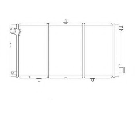 Радиатор охлаждения NRF 507210