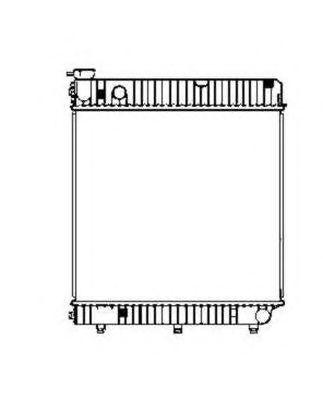 Радиатор охлаждения NRF 507665
