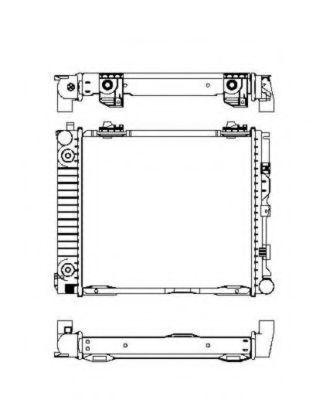 Радиатор охлаждения NRF 507676