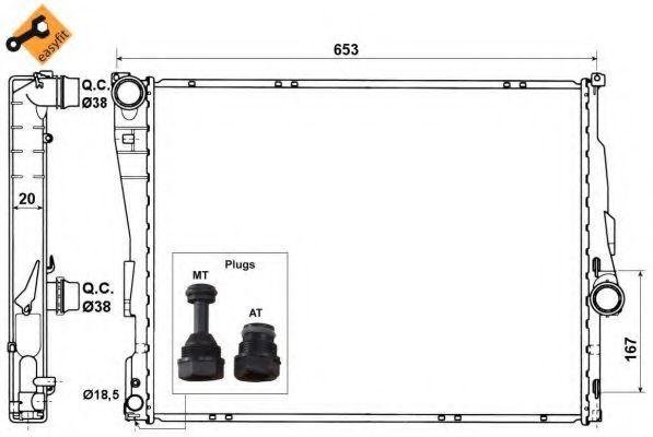 Радиатор NRF 51582