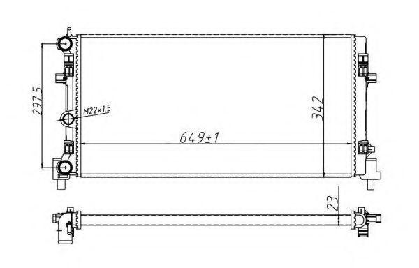 Радиатор охлаждения NRF 53024A