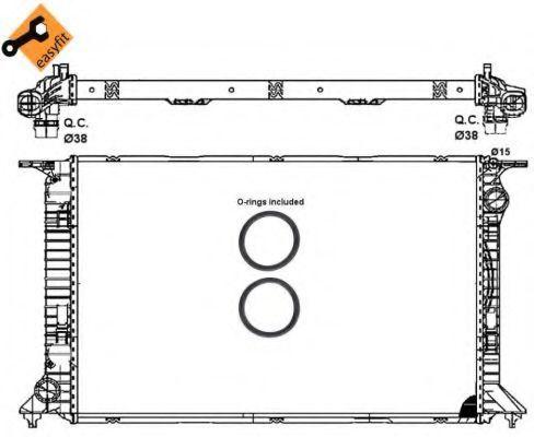 Радиатор охлаждения NRF 53064