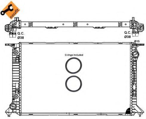 Радиатор охлаждения NRF 53065
