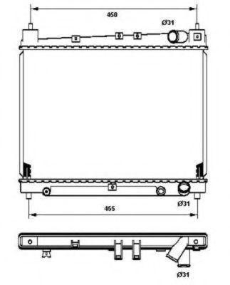 Купить Радиатор охлаждения NRF 53211