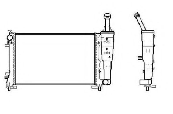 Радиатор охлаждения NRF 53247