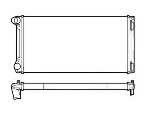 Радиатор охлаждения NRF 53249
