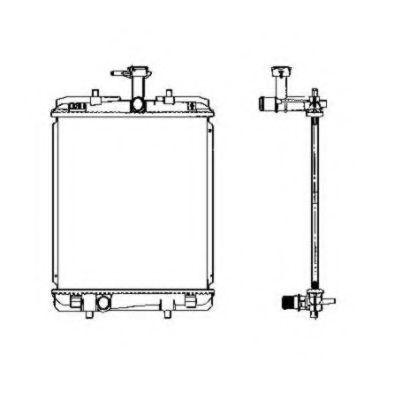 Радиатор охлаждения NRF 53459