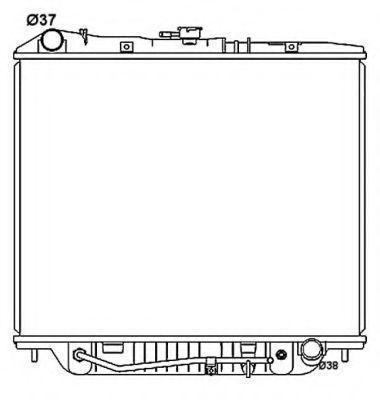 Радиатор охлаждения NRF 53516