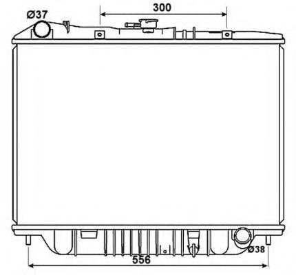 Радиатор охлаждения NRF 53517