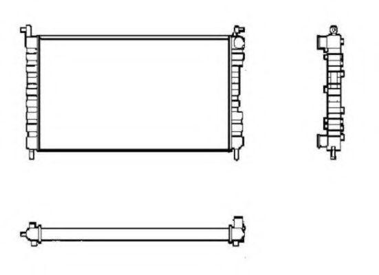 Радиатор охлаждения NRF 53600