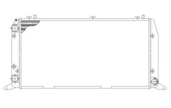 Радиатор охлаждения NRF 54602
