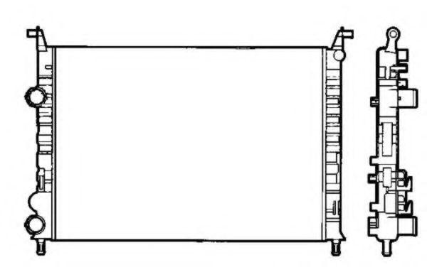 Радиатор охлаждения NRF 58195