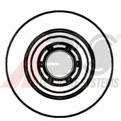 Диск тормозной A.B.S. 15010