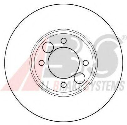 Тормозной диск A.B.S. 15622OE