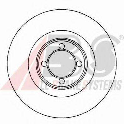 Тормозной диск A.B.S. 15717OE