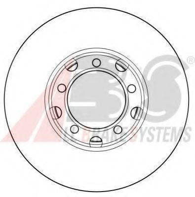 Тормозной диск A.B.S. 15741OE