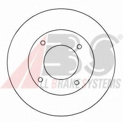 Тормозной диск A.B.S. 16126
