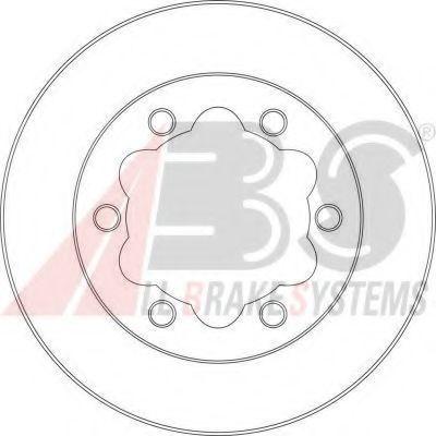 Диск тормозной A.B.S. 16950