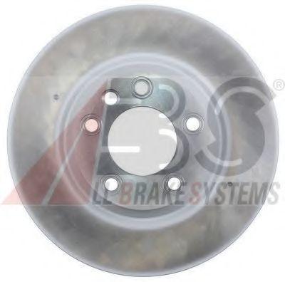 Диск тормозной передний вентилируемый A.B.S. 17504