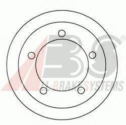 Барабан тормозной A.B.S. 2405S
