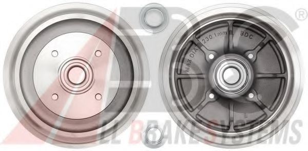 Барабан тормозной A.B.S. 3439SC
