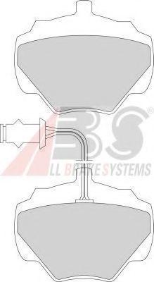Колодки тормозные A.B.S. 361251