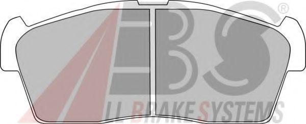Колодки тормозные A.B.S. 37236