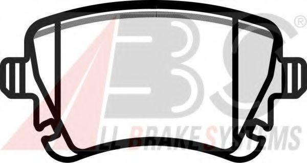 Колодки тормозные A.B.S. 37411