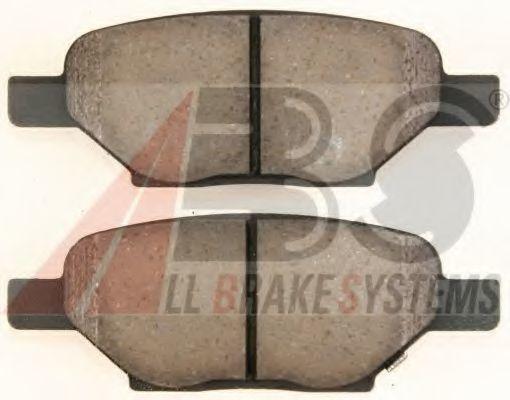 Колодки тормозные A.B.S. 38438
