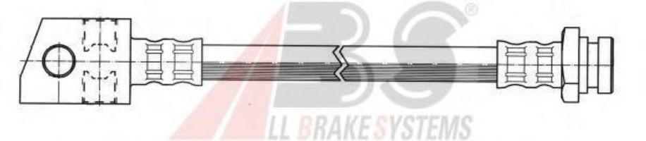 Шланг тормозной A.B.S. SL 3606