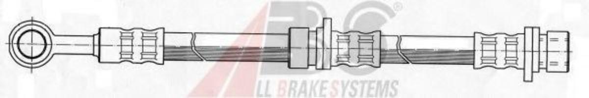 Шланг тормозной A.B.S. SL 5081