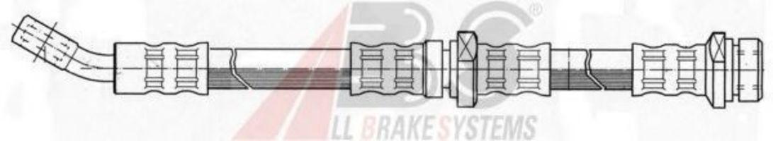 Шланг тормозной A.B.S. SL 5243