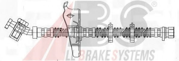 Шланг тормозной A.B.S. SL5557