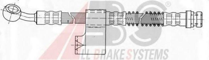 Шланг тормозной A.B.S. SL5607