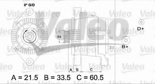 Генератор VALEO PHC 437422