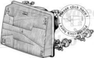 Основная фара VALEO 082625