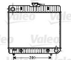 Радиатор, охлаждение двигателя VALEO 734502