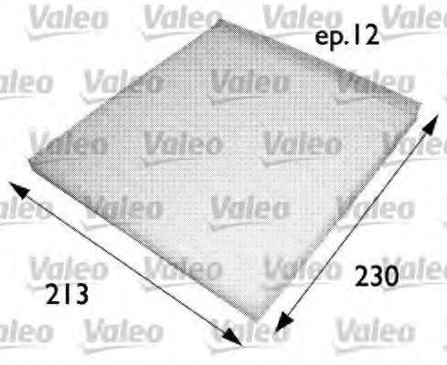 Фильтр салона VALEO 698691