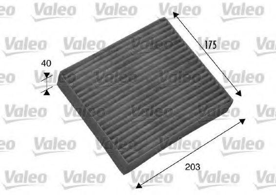 Фильтр, воздух во внутренном пространстве VALEO PHC 698802