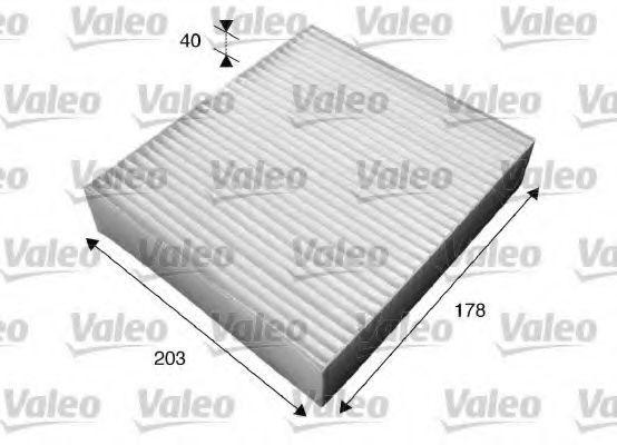 Фильтр, воздух во внутренном пространстве VALEO PHC 715603