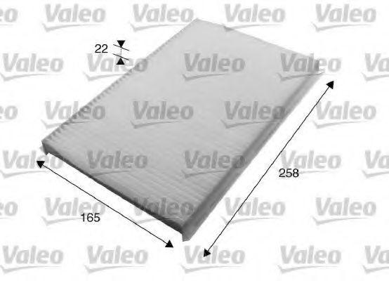 Фильтр салона VALEO 715615